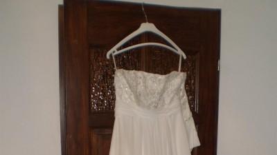 Suknia slubna mgiełka