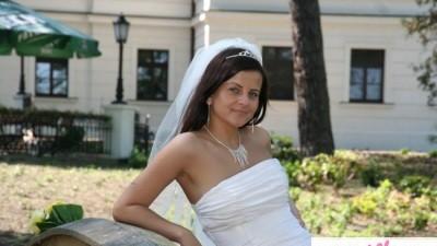 suknia ślubna Miss Polonia 2006