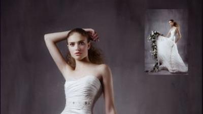 suknia ślubna/ model 2009/ Papilio