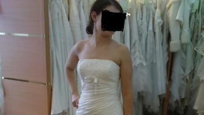 Suknia Ślubna Model Sweetheart 5831 z Cymbaline