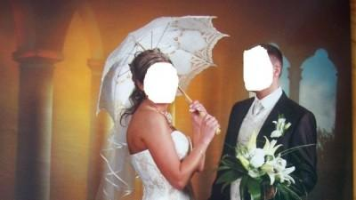 SUKNIA ŚLUBNA MORI FIRMY MARGARETT KOLOR ECRU + DODATKI GRATIS