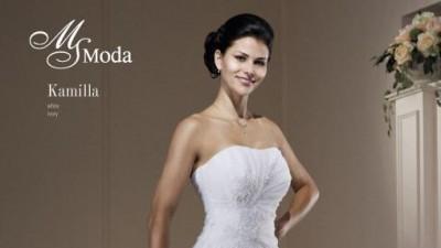 suknia ślubna ms moda 2012