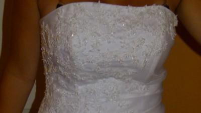 Suknia Ślubna MS Moda model Sra Biała rozm38/40 Śliczna