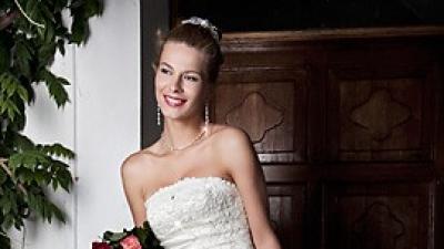 Suknia ślubna na wysoką dziewczynę 180cm