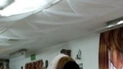 Suknia ślubna na wzór Miss Kelly Spark roz.48