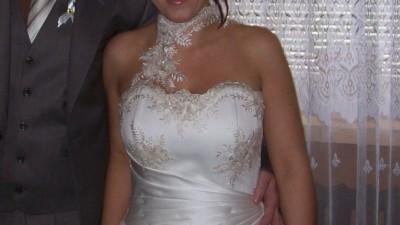 Suknia ślubna na wzór sukni EMMI MARIAGE ROMANCE + Gratisy