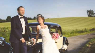 Suknia ślubna Nabla Justin Alexander ala RETRO