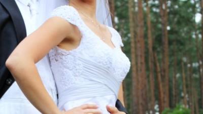 Suknia ślubna Nabla Kaedry rozm. 38, biała