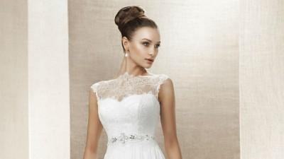 Suknia ślubna NABLA - LENA r.38 b. lekka