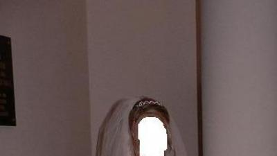 suknia ślubna NAJNA+boletko-futerko gratis
