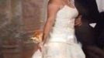 suknia slubna - niepowtarzalna - skromna