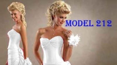 Suknia ślubna - niezwykle szykowna  kreacja