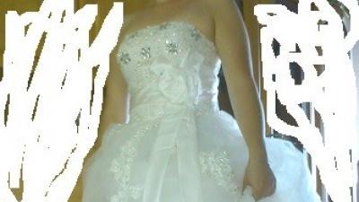 Suknia ślubna NOWA z metką Swarovski kryształki roz. 38