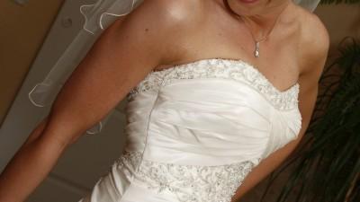 Suknia Ślubna od Eddy K + welon i koło