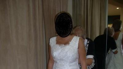 Suknia ślubna okazja 500zl