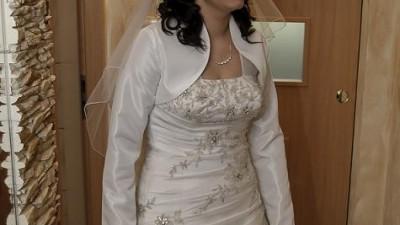 Suknia ślubna PAPA MICHEL ENLIL +  gratis! rozmiar 38