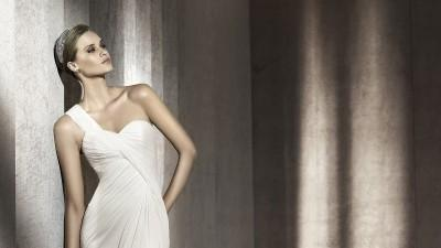 suknia ślubna Paris/ Pronovias, rozmiar 34, welon gratis