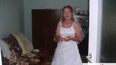 suknia ślubna 'Perełka'