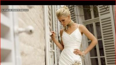 Suknia slubna perłowa Linea Raffaelli 36