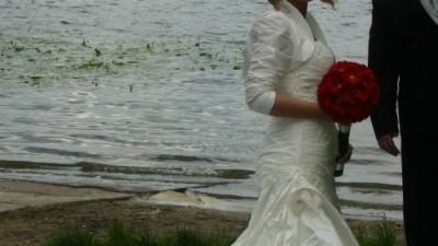 SUKNIA śLUBNA PIEKNA ELIZABETH - 2008