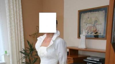 Suknia Ślubna piękna z bolerkiem tanio