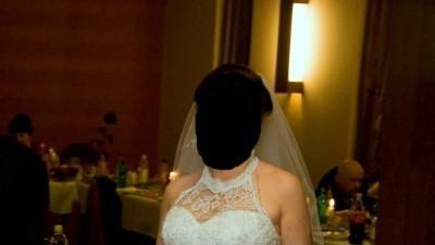 Suknia ślubna prełowa, r.40-42