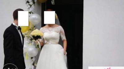 Suknia Ślubna Princessa 2014-sprzedam lub zamienię