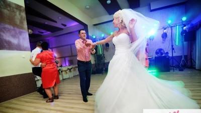 Suknia ślubna PRINCESSA dla księżniczki 34-38 + dodatki