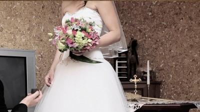 Suknia ślubna - princessa - Swarovski