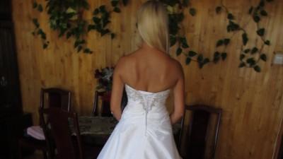 Suknia ślubna PRISCILLA! Tanioooo!!!