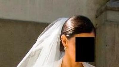 Suknia ślubna projekt Manuel Mota, model Anna, zakupiona w salonie Madonna