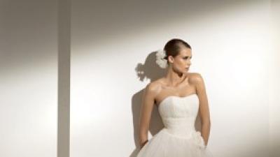Suknia ślubna Pronovias Mosaico 2010