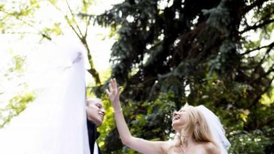 Suknia ślubna r. 34