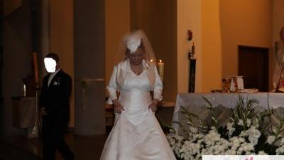 Suknia ślubna r. 46-48