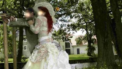 Suknia ślubna retro Karen stan idealny SUKNIA TWOICH MARZEŃ