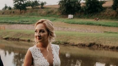 Suknia ślubna RIYA - Zakupiona w salonie MADONNA