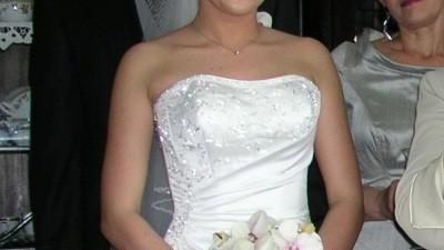 Suknia ślubna Rosemary Maggie Sottero + halka z kołem + szal + welon