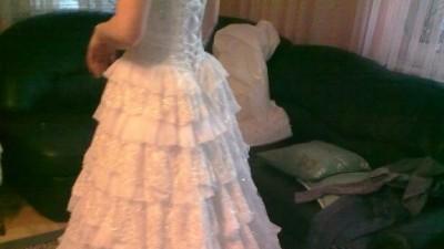 Suknia Ślubna roz. 36-38 w stylu Hiszpańskim