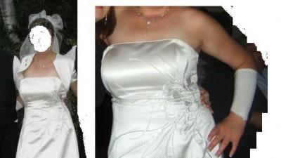 Suknia ślubna roz 46