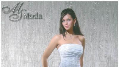 Suknia ślubna rozm.36/38 biała Ms Moda ROSITA