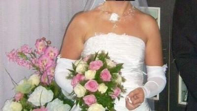 suknia ślubna rozm. 36-38 + dodatki