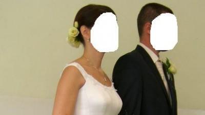 Suknia ślubna rozm. 36 kolor Ecru+buty gratis