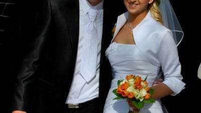 Suknia ślubna, rozm. 38