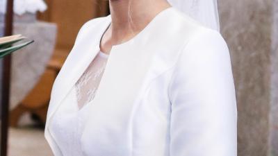 Suknia ślubna rozm 38/172 cm PIĘKNA