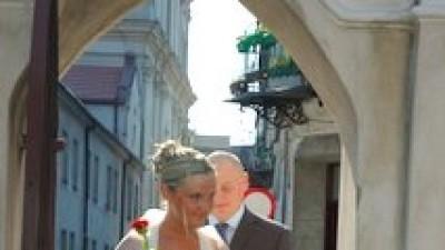 Suknia ślubna rozm. 38/40 TANIO Warszawa + gratisy
