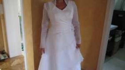 suknia ślubna, rozm.38-40; wzrost 167cm