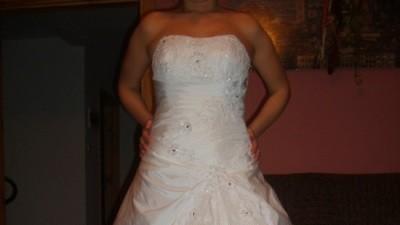 suknia ślubna rozm.38 biała