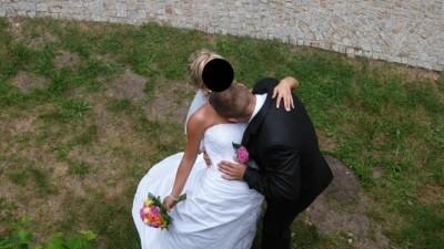 Suknia ślubna rozm. 38- Tanio!
