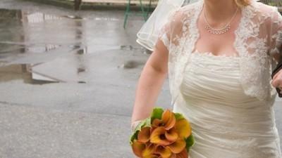 Suknia  ślubna rozm.44-46