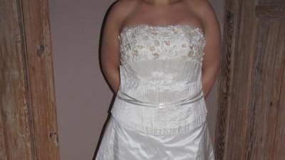 suknia ślubna rozm.44/46         ***cena do negocjacji***